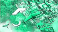 阿弥陀佛西方极乐世界的鸟可以坐在云朵上休息,像火烈鸟颜色的共命鸟身长50米,真是叹为观止!