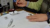 側錄手腕書寫的動作《陳忠建書法學堂》