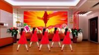 龙门红叶广场舞【好事样样来】编舞【青春飞舞】