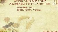 223胡希恕《金匮要略》讲座13-12-19、20