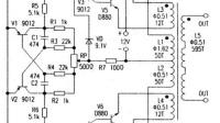 低成本高效率DIY12V转220V逆变器-自制升压器12v升220v