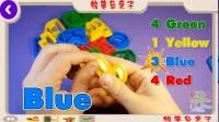 铅笔岛亲子 学习颜色与 ABC 塑料数字有趣的儿童学习竞赛学前教学教育