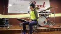 架子鼓视频教学架子鼓教学, 爵士鼓教学四拍花组合练习