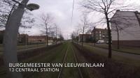 【Youtube】[軌道展望]GVB・阿姆斯特丹有軌電車13號(Remise Havenstraat→中央車站)2018.1.28