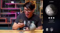 Show and Tell Augmented Reality Model of the Moon