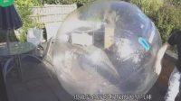 世界最牛旅行家: 将自己关在气球里, 从英国漂到了法国