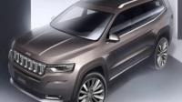 Jeep大指挥官7座SUV官图发布专供中国市场