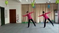河南鹤壁轻舞飞扬健身队姐妹花形体舞《风筝误》(静静版)
