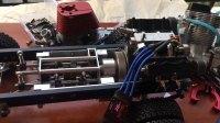拓阳 TOYAN V4 4缸发动机 改1:10攀爬