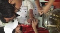 荣耀爱心志愿者团队自带食材为北京松堂关怀医院的老人们包子啦!
