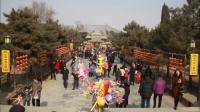 春节走庙会