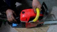 玖坚油锯维修之-----控制臂弹王,化油器的调整