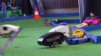 RC遥控赛车房车对对碰碰撞活动