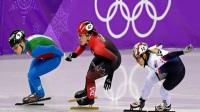 2018平昌冬奥会短道速滑男子500米预赛任子威晋级(第7组)