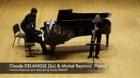 Cluade Delangle 迪朗格 萨克斯Prèmiere Rhapsodie pour Clarinette by Claude DEBUSSY