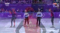 短道速滑男子500米决赛, 武大靖刷新世界纪录夺冠, 中国首金!
