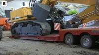 RC遥控半挂卡车运输挖掘机