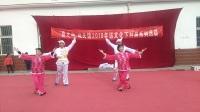 平罗县春之萌城关镇2018年文化下村居系列活动。手机拍摄张福忠。