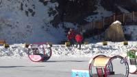 去看冬季的新疆-天山大峡谷