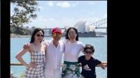 54岁甄子丹晒亲密照,与妻子二人合体秀恩爱,14岁女儿有超模风范