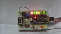 玩转STM8S单片机基础版16-LED音量显示器