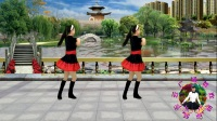 2018最新 蓝天云广场舞 好看好学的32步《缘分来了爱上你》附教学口令