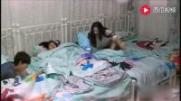 向往的生活: 赵丽颖卸完妆躺在何炅怀里, 谢娜在旁边可是看得一清二楚