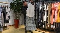 18年广州时尚品牌女装HEIZLE春款连衣裙折扣女装一手货源批发走份