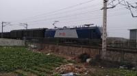 电力26632 HXD1B0568 通过嘉兴槜李路公铁立交
