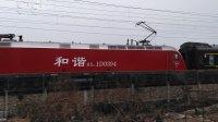 K575次 上海南--永州 HXD1D0394 通过嘉兴槜李路公铁立交