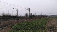 K123次 上海南--十堰 HXD3C0022 通过嘉兴槜李路公铁立交