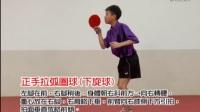 教学影片10 正手拉弧圈球(下旋球)-smartpong超越乒乓球发球机_高清