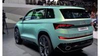 斯柯达推出全新6座混动SUV车型,或16万起售!