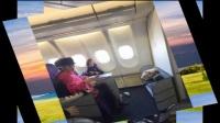 李小璐为避开PG One紧急回国,多名网友在飞机上偶遇她和甜馨