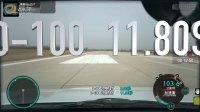 传祺GS4超级评测加速测试车内视角