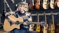 天韵吉他自主品牌TY-A3C型号,评测视频,想入手的小伙伴们来看看