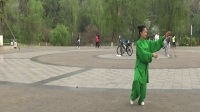 自贡市邓晓华杨氏85式太极拳晨练