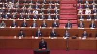 十三届全国人大一次会议举行第六次全体会议 中华人民共和国国家监察委员会主任杨晓渡宣誓 2018两会 180318