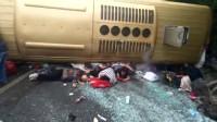 白沙高速收费路口发生车祸事故