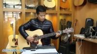 吉他测评-朱丽叶x-3  指弹吉他弹唱-吉他测评