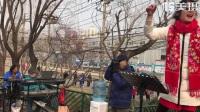 2018 年3 月18 日北京市海淀区牡丹园心连心合唱团之歌,小芹老师指挥的歌曲。