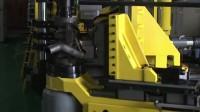 90全自动液压弯管机视频,机器采用三层模具技术,在不同弯管角度可同时弯管