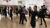 新辉午间成人拉丁舞班练习伦巴