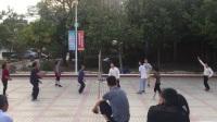 鹤市广场气排球 家族队 PK 混合队  3.36分钟