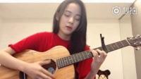 千万粉丝福利!欧阳娜娜弹吉他唱英文歌人美声甜