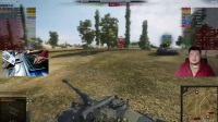 拎大侠坦克世界 小葱葱吓的杠7直接投河