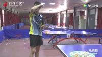 马骁阳 横板侧身抢攻及步法使用--转 乒乓生活