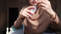 2018紫罗兰,收到朋友送的新年礼物――欧舒丹樱花系列护肤品(开箱分享)。video_20180204_141132