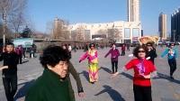 亿兴秧歌队潇红广场跳广场舞