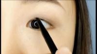 微林美睫:第2期画眼线化妆视频教程:柔和上扬、拉长眼尾_眼线笔,眼线膏的使用培训